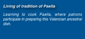Living of tradition of Paella